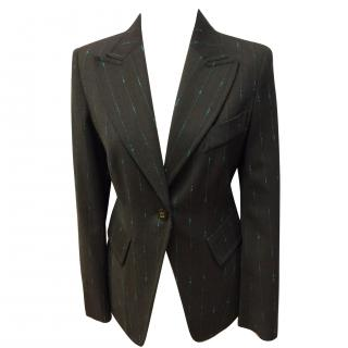 Louis Feraud pin lined blazer