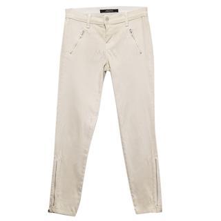 J Brand beige denim jeans