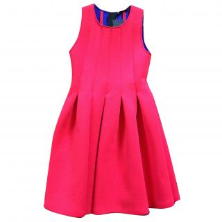 MSGM Red Scuba Dress