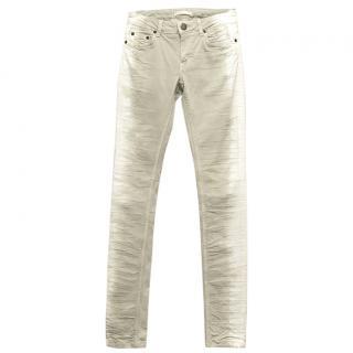 Maje Light Grey Jeans