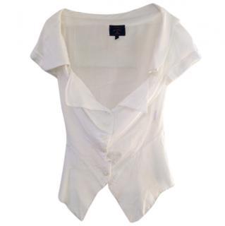 Vivienne Westwood white off the shoulder top