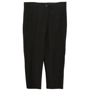 Vera Wang Black silk trousers
