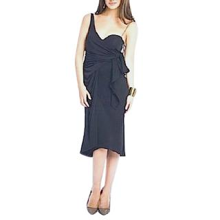 Giambattista Valli Black Draped Dress