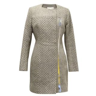 Peter Pilotto light grey wool coat