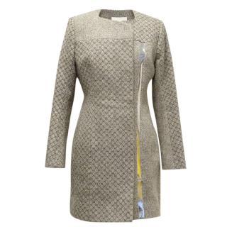 Peter Pilotto light grey wool coat