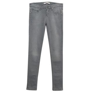 Victoria Beckham Grey skinny jeans