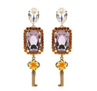 Dolce & Gabbana crystal earrings