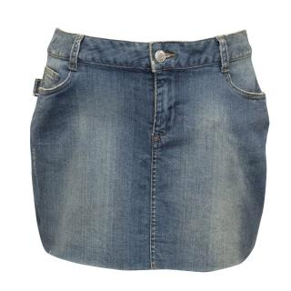 Zadig & Voltaire Blue Denim Skirt