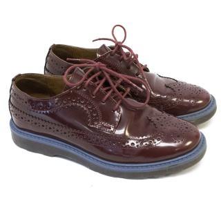 Paul Smith Junior Boys Burgundy Shoes