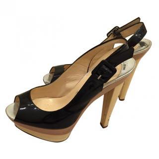 Christian Louboutin Tri Colour Heels
