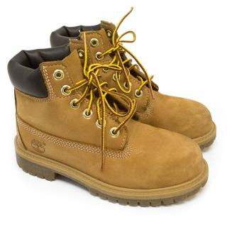 Timberland Boy's Tan Boots