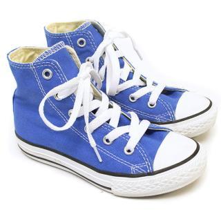 Converse Blue Chuck Taylor Hightops