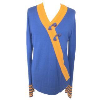 SHANGHAI TANG silk blend jumper size 12