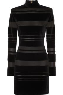 Balmain Velvet mini dress