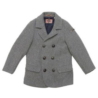 Scotch Shrunk Children's Grey coat
