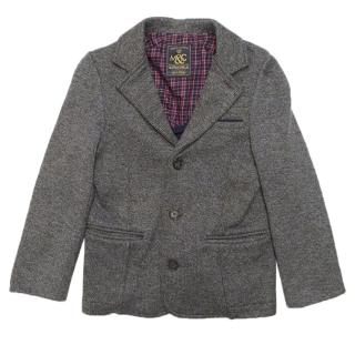 Mayoral grey boy's knitted blazer