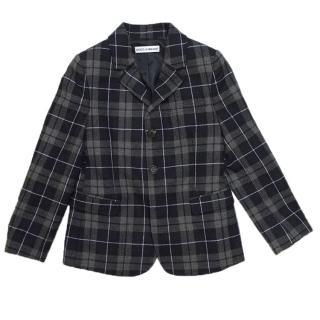 Dolce & Gabbana Checkered Blazer