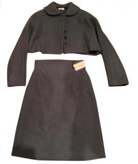 Alaia Black skirt suit
