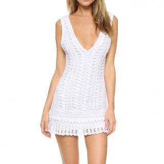 Melissa Odabash White Crochet Dress