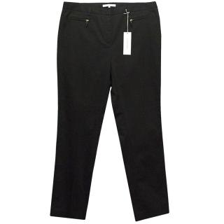 Gerard Darel Black Trousers with Zip Pockets