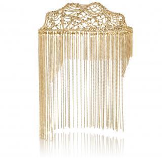 Millefili Gold Dipped Chain Headpiece