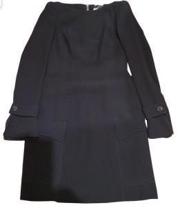 Derek Lam Black Off The Shoulder Dress