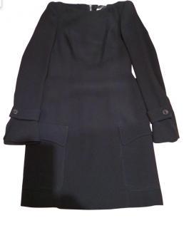 Derek Lam Black Off The Shoulder Dress