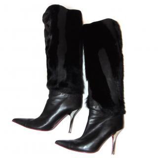 Emanuel Ungaro Knee Length Boots