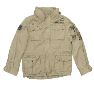 Scotch Shrunk kids beige parka