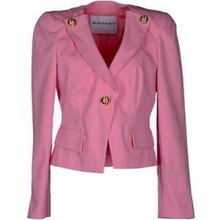 NEW GUI MATTIOLO Pink Blazer