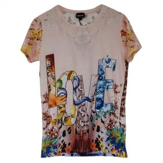 Just Cavalli Printed T Shirt