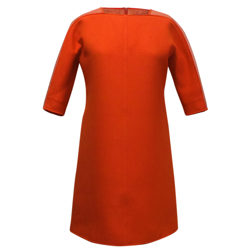 Courreges Paris Red Dress