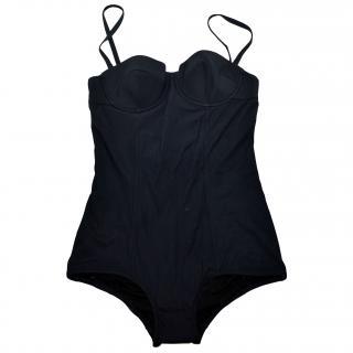 Dolce & Gabbana black swimsuit