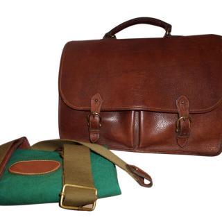 Vintage Unused Mulberry Wexford Laptop Bag/Satchel/Messenger/Briefcase