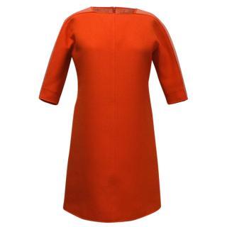 Courreges Paris Red Dress