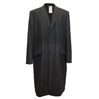 Dolce and Gabbana Men's long grey coat