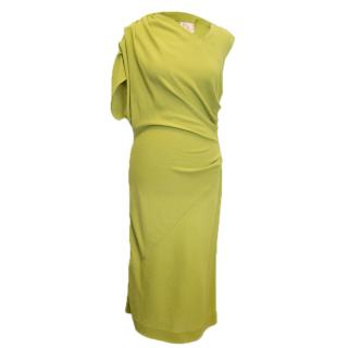 Roksanda Ilincic Lime Green Dress