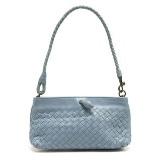 Bottega Venetta small blue handbag