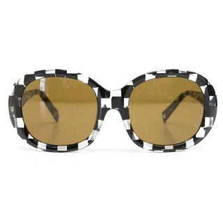 Alain Mikli black and clear sunglasses