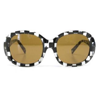 Alain Mikli black and clear sunglasses
