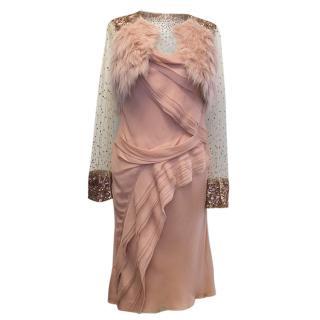 J Mendel silk dress and top
