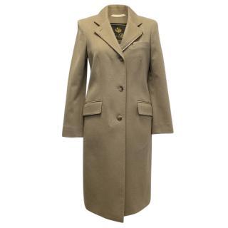 Loro Piana Camel Cashmere Coat
