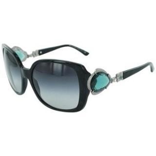Bvlgari Ltd Edition Large Swarovski Crystals Sunglasses