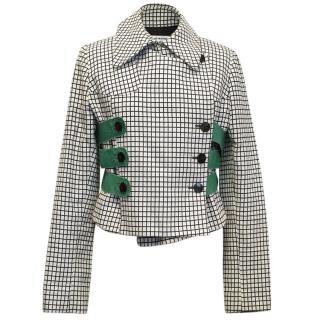 Roland Mouret patterned jacket