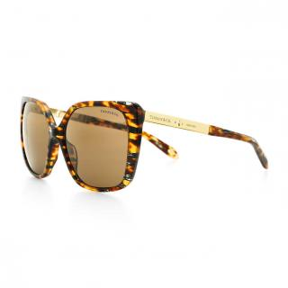 Tiffany & Co. 4074 Brown Tortoiseshell Polarised Sunglasses