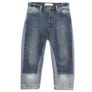 IMarc Jacobs Cropped Boyfriend Jeans