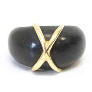 Links of London Black Wooden Ring
