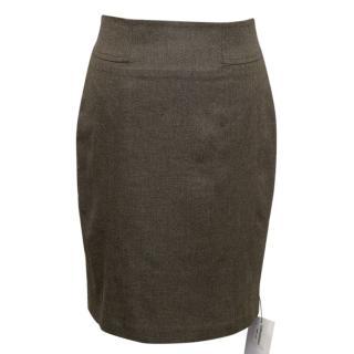 Adam Lippes brown skirt