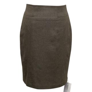 Adam Lippes brown skirt