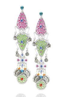 Erickson Beamon Turkish Delight Earrings